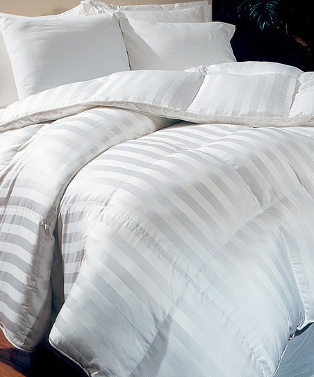 White Milano 800-Thread Count Hungarian Goose Down Comforter