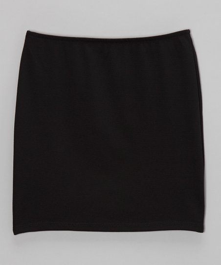 Black Pencil Skirt - Girls