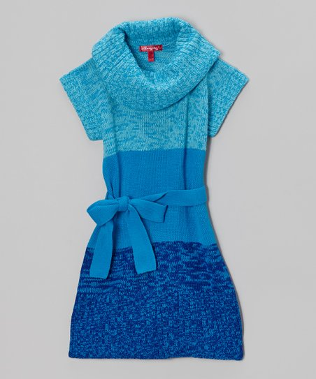 Bluebell Cowl Neck Dress - Girls