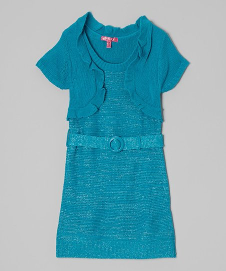 Mermaid Belted Layered Dress - Infant, Toddler & Girls