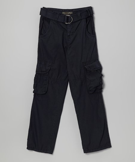 Dark Navy Cargo Pants
