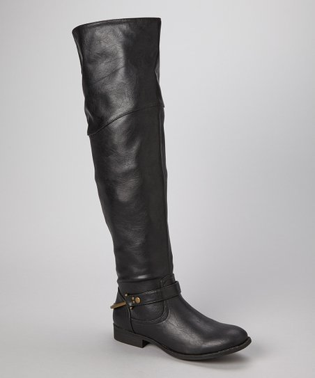 Black Calvary Boot