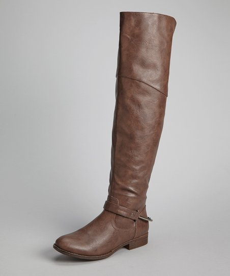 Brown Calvary Boot