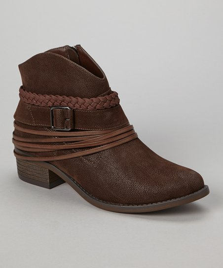 Brown Howdy Ankle Boot
