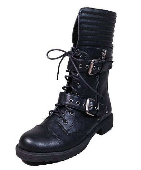 Black Fight Boot