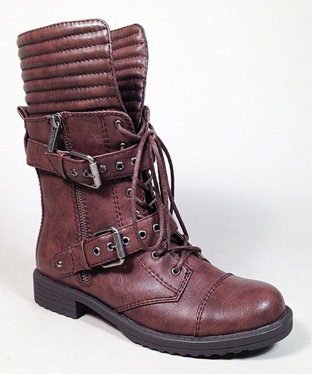 Brown Fight Boots