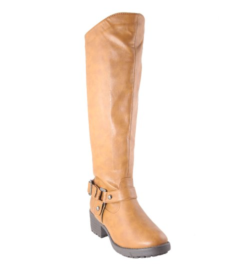 Tan Tall Boot