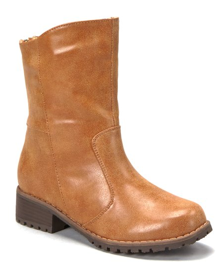 Tan Outlaw Low Boot