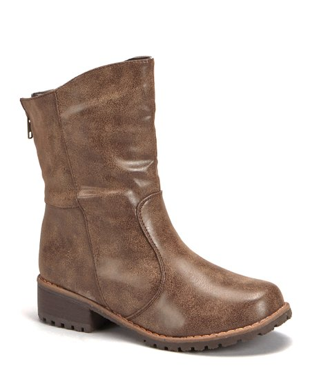 Brown Outlaw Low Boot
