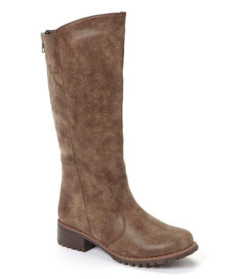 Brown Outlaw Tall Boot