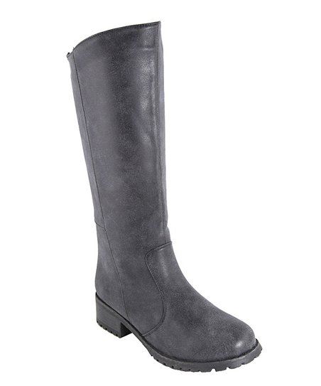 Black Outlaw Tall Boot