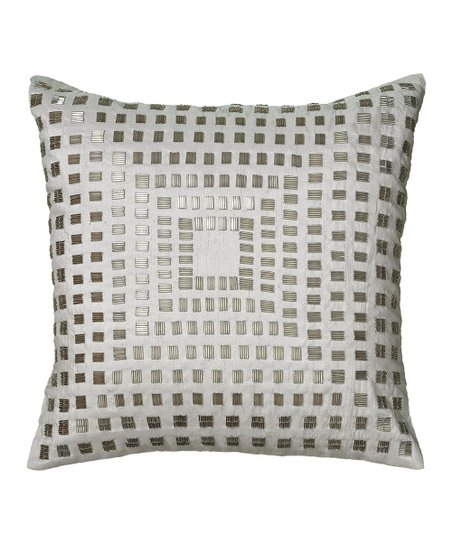 Bead Square Pillow