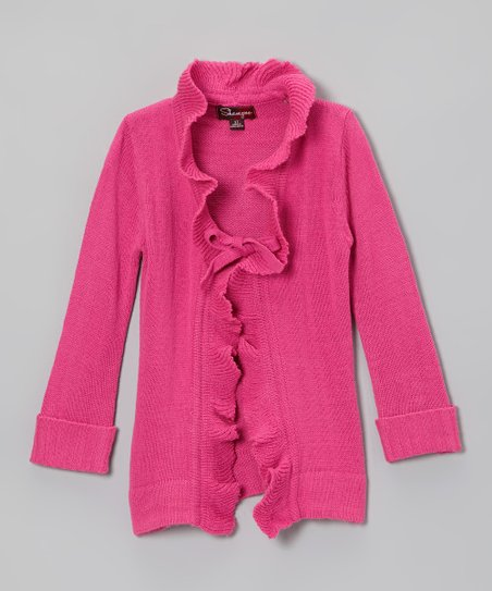 Rose Revival Ruffle-Front Duster - Toddler & Girls