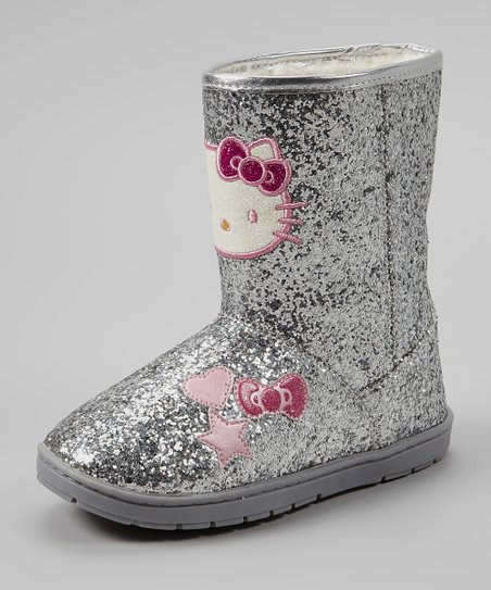 Silver Tiffany Boot