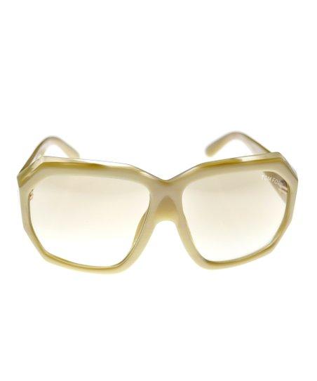 Nude Geometric Sunglasses