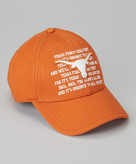 Texas Longhorns Fight Song Chino Cap - Adult