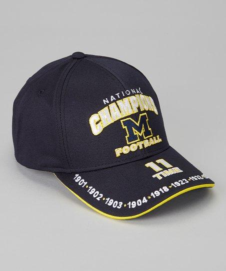 Michigan Wolverines 'National Champions' Baseball Cap