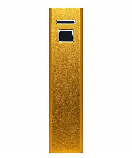 Gold 3,000-mAh Powerbar Charger