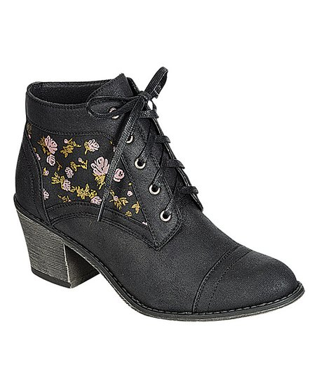 Black Rose Leighton Ankle Boot