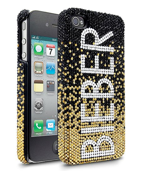 Gold 'Bieber' Case for iPhone 4/4S