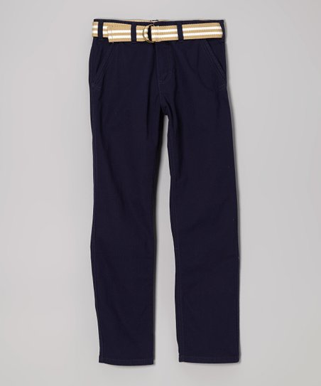 Twilight Belted Pants - Boys