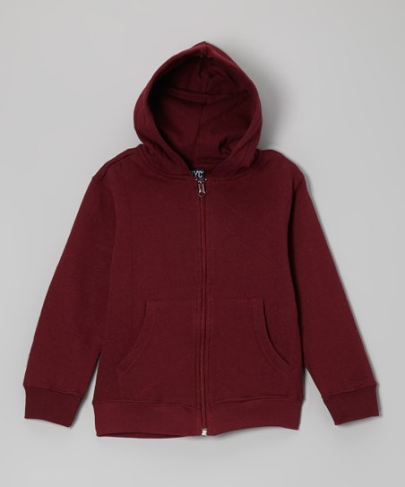 Garnet Casual Zip-Up Hoodie - Toddler & Boys
