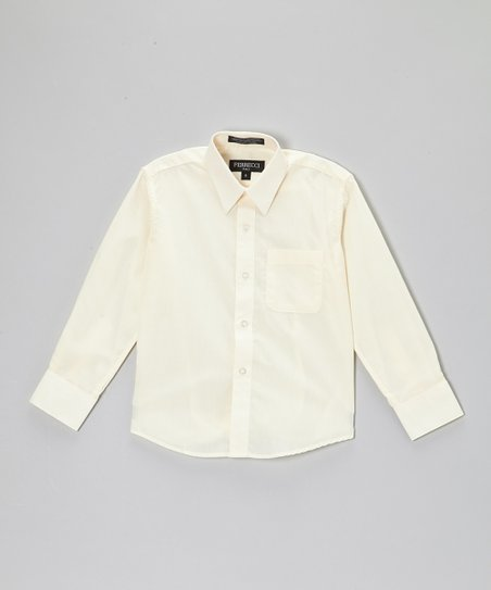 Off-White Button-Up