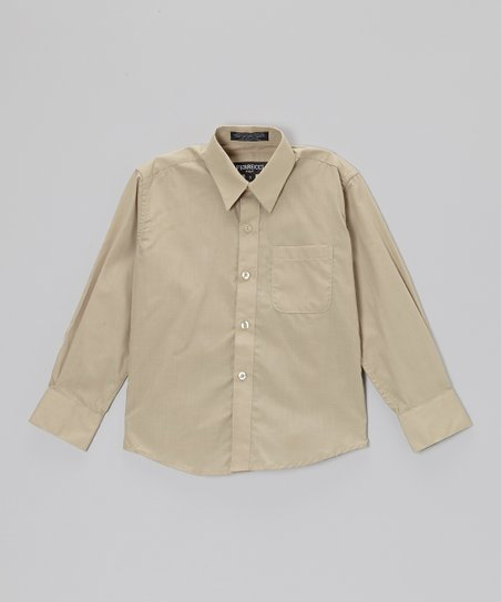 Khaki Button-Up