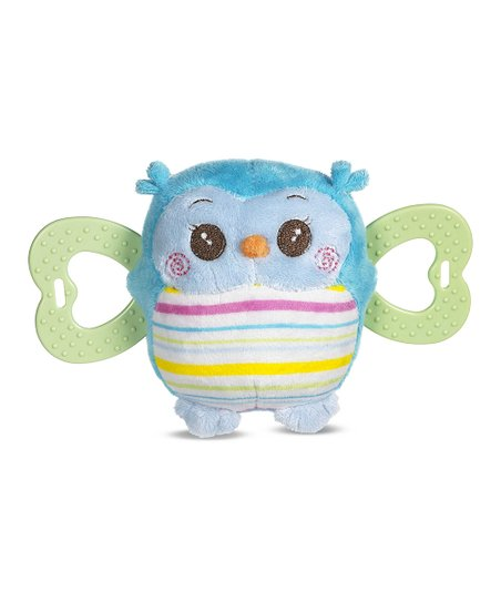 Blue Owl Teether Plush Toy