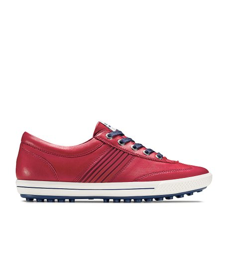 Chili Red & Royal Blue Street Sport Golf Shoe