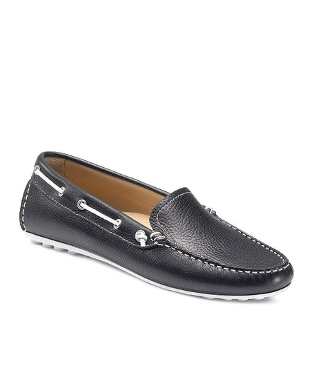 Black Cuno Boat Shoe