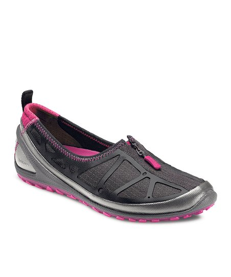 Black & Beetroot BIOM Lite Zipper Shoe