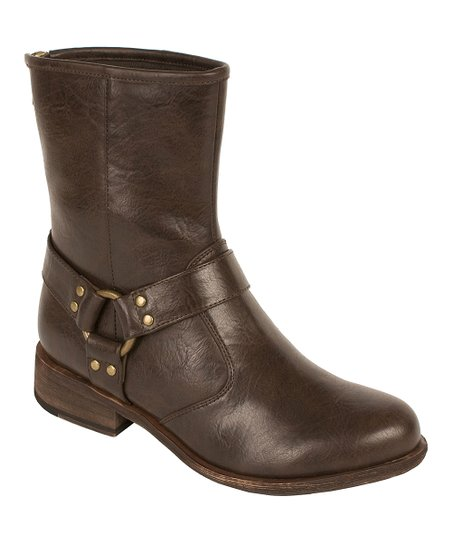 Dark Brown Hannah Boot