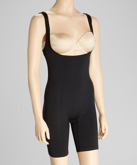 Black Classic Micro Shaper Under-bust Bodysuit