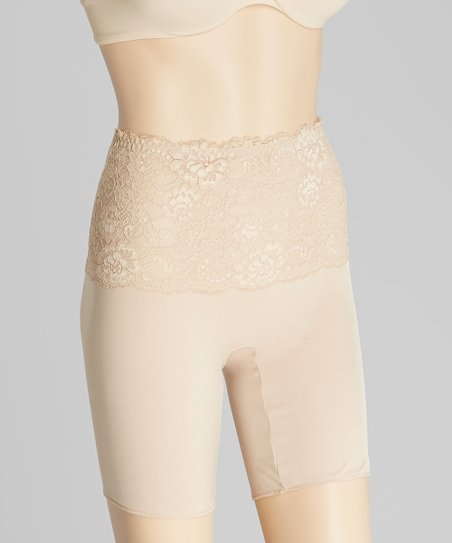 Nude Fascination Lace Shaper Shorts