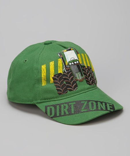 Green 'Dirt Zone' Baseball Cap