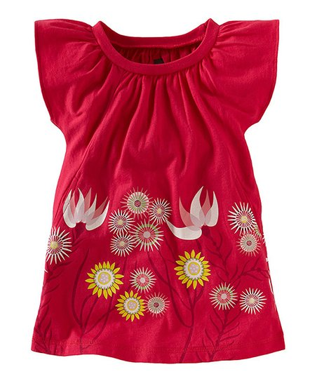Camille Pink Anemone Garden Dress - Infant & Girls