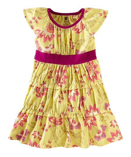 Yuzu Ardmore Floral Twirl Dress - Infant & Girls