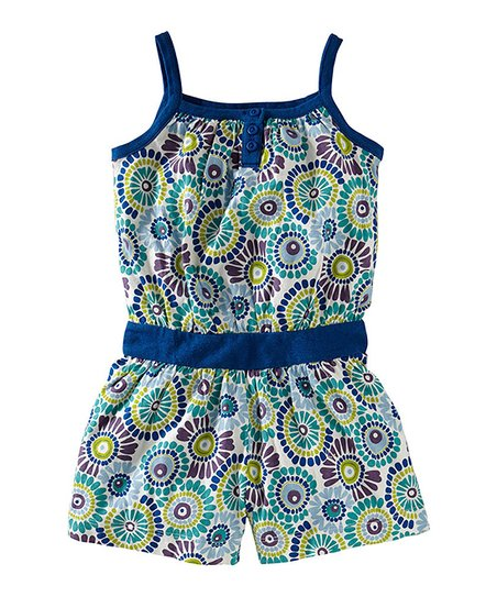 Milk Woodstock Henley Romper - Toddler & Girls