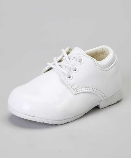 White Patent Dress Shoe