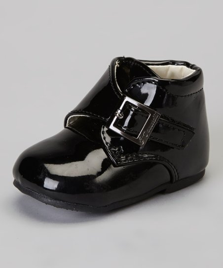 Black Buckle Dress Shoe