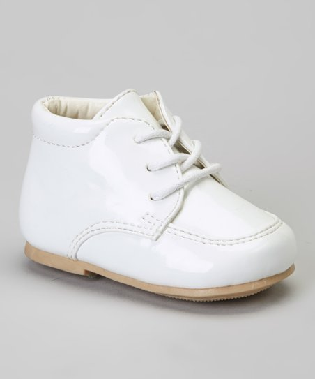 White Stitched Dress Shoe