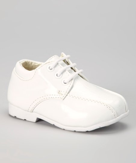 White Crocopa Dress Shoe