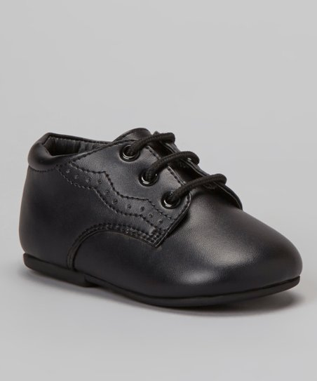 Black Wawa Dress Shoe - Boys