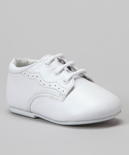 White Wawa Dress Shoe - Boys
