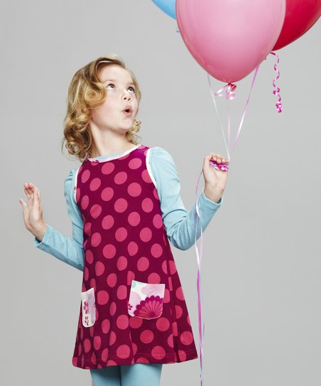 Pink Polka Dot Jumper - Toddler & Girls