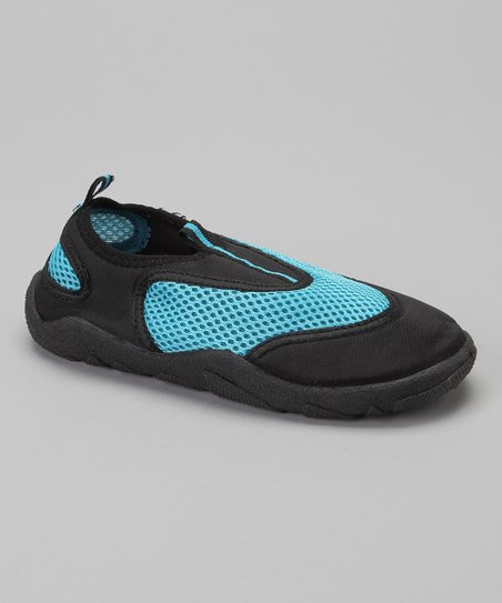 Turquoise & Blue Water Shoe - Kids
