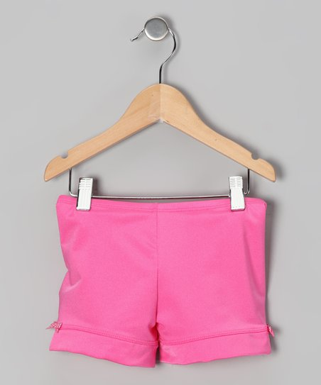 Pink Bow Shorts - Toddler