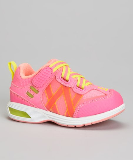 Pink & Yellow Rival Light-Up Sneaker