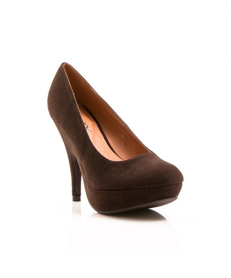 Dark Brown Oksana Pump